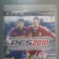 Videojuegos y Consolas: PES 2010 PRO EVOLUTION SOCCER. Lote 191360101