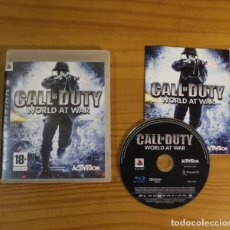 Videojuegos y Consolas: CALL OF DUTY WORLD AT WAR, VIDEOJUEGO SONY PLAYSTATION 3 PS3 PAL ESPAÑA ACTIVISION. Lote 191683175