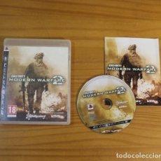 Videojuegos y Consolas: CALL OF DUTY MODERN WARFARE 2, VIDEOJUEGO SONY PLAYSTATION 3 PS3 PAL ESPAÑA ACTIVISION. Lote 191683231