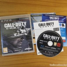 Videojuegos y Consolas: CALL OF DUTY GHOSTS, VIDEOJUEGO SONY PLAYSTATION 3 PS3 PAL FRANCIA ACTIVISION. Lote 191683335