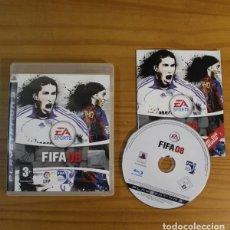 Videojuegos y Consolas: FIFA08, VIDEOJUEGO SONY PLAYSTATION 3 PS3 PAL ESPAÑA FIFA 08 FUTBOL. Lote 191683455