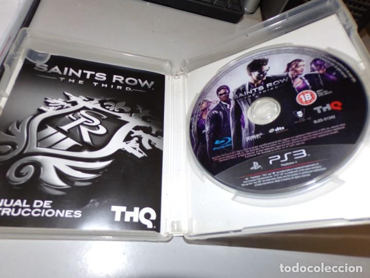 Videojuegos y Consolas: juego play 3 saints row the third - Foto 3 - 191731891