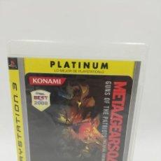 Videojuegos y Consolas: METAL GEAR SOLID 4 PLATINUM PS3. Lote 191804367