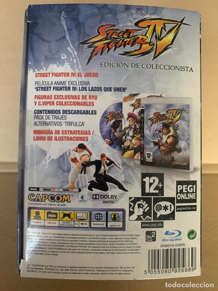 Videojuegos y Consolas: Street Fighter IV- PS3 (Edición especial) - Foto 3 - 192036865