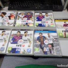 Videojuegos y Consolas: FIFA PLAYSTATION 3 JUEGO PS3 ESPAÑA 2009-2010-2012-2013-2015. Lote 192151130