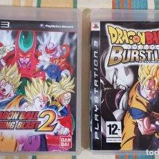 Videojogos e Consolas: 2 JUEGOS PS3; DRAGON BALL Z (BURSTLIMIT) Y DRAGON BALLZ ( RACING BLAST ) BUEN ESTADO , INCLUYEN MAN. Lote 192183735
