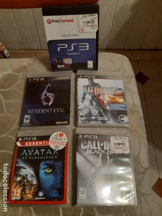 5 PELICULAS DE PS3 PLAYSTATION NETWORK (Juguetes - Videojuegos y Consolas - Sony - PS3)