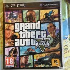 Videojogos e Consolas: GRAND THEFT AUTO V FIVE PLAYSTATION PS3. Lote 193366478