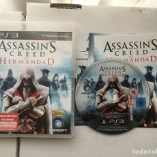 Videojogos e Consolas: ASSASSINS CREED LA HERMANDAD BROTHERHOOD ASSASSIN PS3 PLAYSTATION 3 PLAY STATION 3 KREATEN. Lote 193620227