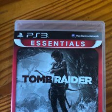 Videojuegos y Consolas: PS3 PLAY STATION 3 TOMB RAIDER TOMBRAIDER ESSENTIALS JUEGO PS2 PS4 VIDEOJUEGO LARA CROFT PS1 CD PC. Lote 194192161