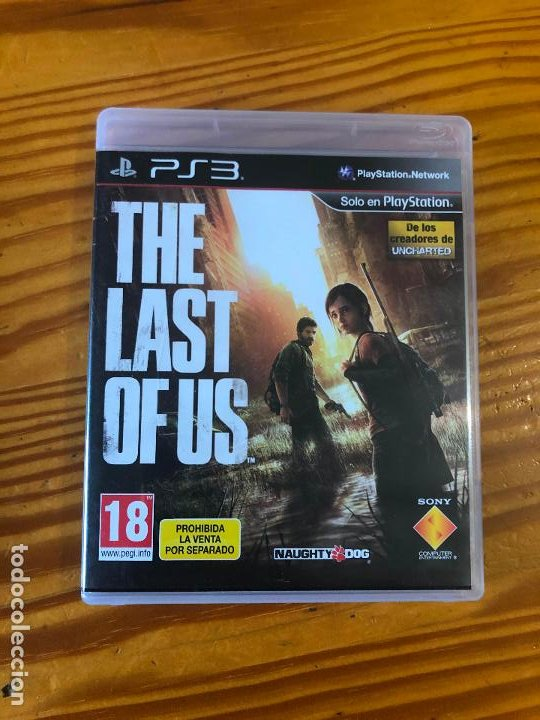 PS3 PLAY STATION 3 JUEGO THE LAST OF US UNCHARTED PS1 PS2 PS4 PC CD PELICULA GAME (Juguetes - Videojuegos y Consolas - Sony - PS3)