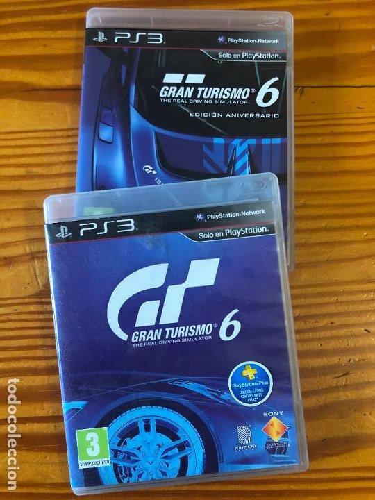 2 JUEGOS PS3 PLAY STATION 3 GRAN TURISMO 6 EDICION ANIVERSARIO THE REAL DRIVING SIMULATOR PS1 PS2 (Juguetes - Videojuegos y Consolas - Sony - PS3)