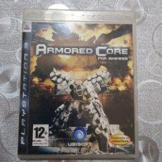 Videojuegos y Consolas: ARMORES CORE PS3. Lote 194398953