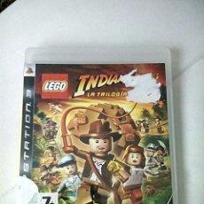 Videojuegos y Consolas: LEGO INDIANA JONES LA TRILOGIA ORIGINAL PS3. Lote 194561923