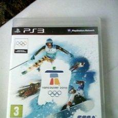 Videojuegos y Consolas: VANCOUVER 2010 PS3. Lote 194563856