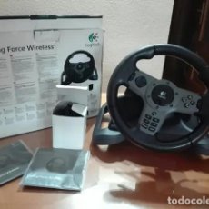 Videojuegos y Consolas: VOLANTE LOGITECH DRIVING FORCE WIRELESS PS3. Lote 194579451