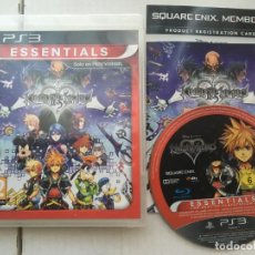 Videojuegos y Consolas: KINGDOM HEARTS HD 2 II.5 REMIX ESSENTIALS PS3 PLAYSTATION 3 PLAY STATION KREATEN. Lote 194600116