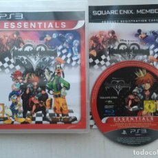 Videojuegos y Consolas: KINGDOM HEARTS HD 1 I.5 REMIX ESSENTIALS PS3 PLAYSTATION 3 PLAY STATION KREATEN. Lote 194600163