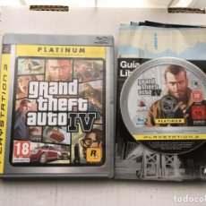 Videojuegos y Consolas: GTA 4 GRAND THEFT AUTO IV PLATINUM PS3 PLAYSTATION 3 PLAY STATION 3 KREATEN. Lote 194624356