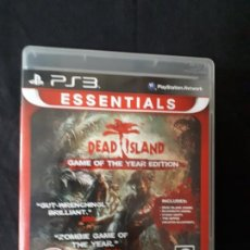 Videojuegos y Consolas: DEAD ISLAND - GAME OF THE YEAR EDITION - SONY PLAYSTATION 3 - PS3 - COMPLETO. Lote 194708530