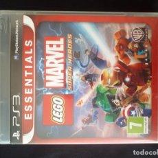 Videojuegos y Consolas: LEGO MARVEL SUPER HEROES - SONY PLAYSTATION 3 - PS3 - COMPLETO. Lote 194873116