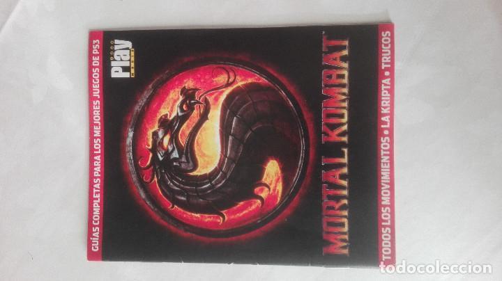 PLAYMANIA MORTAL KOMBAT GUIA PS3 PLAY MANIA REVISTA (Juguetes - Videojuegos y Consolas - Sony - PS3)
