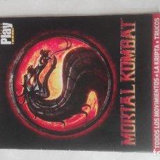 Videojuegos y Consolas: PLAYMANIA MORTAL KOMBAT GUIA PS3 PLAY MANIA REVISTA. Lote 194874226