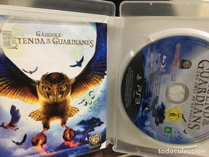 Videojuegos y Consolas: GAHOOLE LA LEYENDA DE LOS GUARDIANES-PS3 - Foto 3 - 194887895