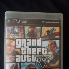 Videojuegos y Consolas: GRAND THEFT AUTO V - GTA V - SONY PLAYSTATION 3 - PS3 - COMPLETO - BLU-RAY . Lote 194895676