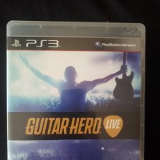 Videojuegos y Consolas: GUITAR HERO LIVE - SONY PLAYSTATION 3 - PS3 - BLU-RAY - GOOD. Lote 194897905