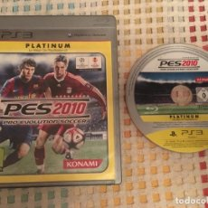 Videojuegos y Consolas: PRO EVOLUTION SOCCER 2010 PES 10 PLATINUM PS3 PLAYSTATION 3 PLAY STATION SONY KREATEN. Lote 194971417