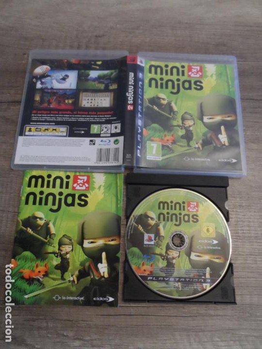 PS3 MINI NINJAS PAL ESP COMPLETO (Juguetes - Videojuegos y Consolas - Sony - PS3)