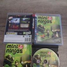 Videojuegos y Consolas: PS3 MINI NINJAS PAL ESP COMPLETO. Lote 194990587