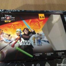 Videojuegos y Consolas: LEER ANUNCIO CAJA DISNEY INFINITY STARTER PACK 3.0 STAR WARS. Lote 195049636
