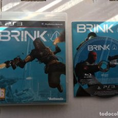 Videojuegos y Consolas: BRINK PS3 PLAYSTATION 3 PLAY STATION KREATEN. Lote 195111915