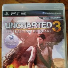 Videojuegos y Consolas: UNCHARTED 3 LA TRAICION DE DRAKE SONY PLAYSTATION 3. Lote 195201557