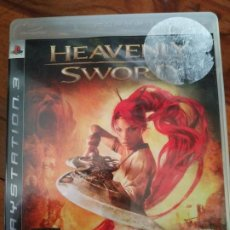 Videojuegos y Consolas: SONY PLAYSTATION 3 - HEAVENLY SWORD - PROMO DISCO BLANCO PS3. Lote 195202136