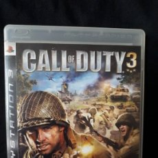 Videojuegos y Consolas: CALL OF DUTY 3 - SONY PLAYSTATION 3 - PS3 - BLU-RAY - COMPLETO - GUERRA. Lote 195213326