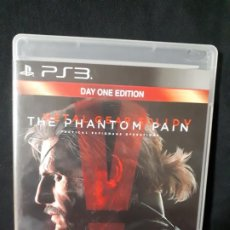 Videojuegos y Consolas: METAL GEAR SOLID V - THE PHANTOM PAIN - DAY ONE EDITION - SONY PLAYSTATION 3 - PS3. Lote 195217987