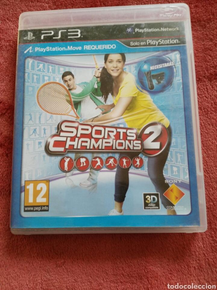 SPORTS CHAMPIONS 2 (Juguetes - Videojuegos y Consolas - Sony - PS3)
