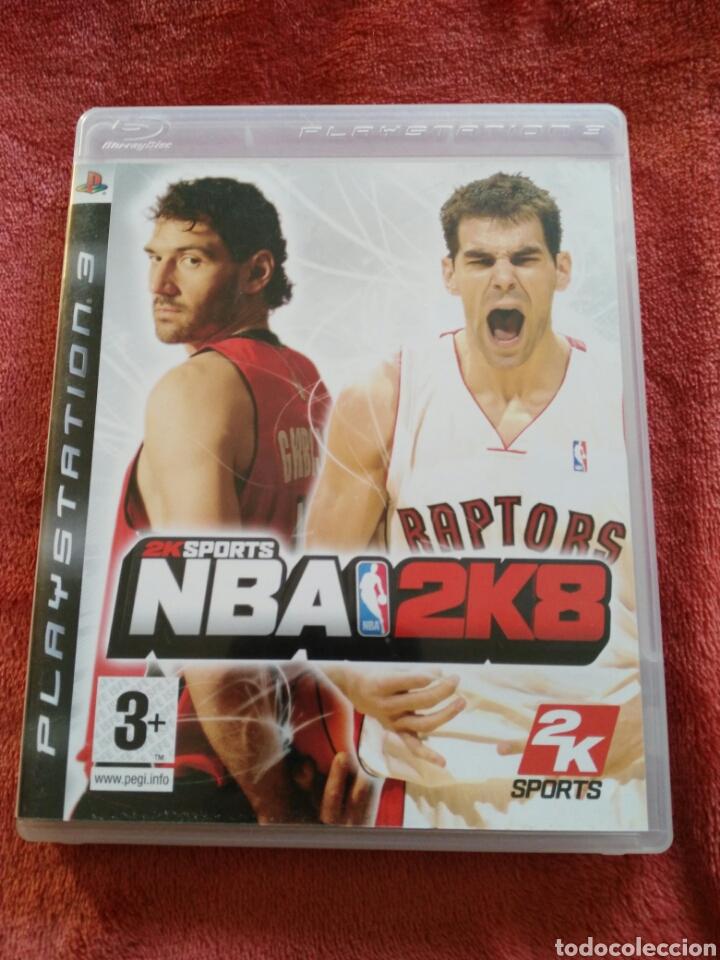 NBA2K8 (Juguetes - Videojuegos y Consolas - Sony - PS3)