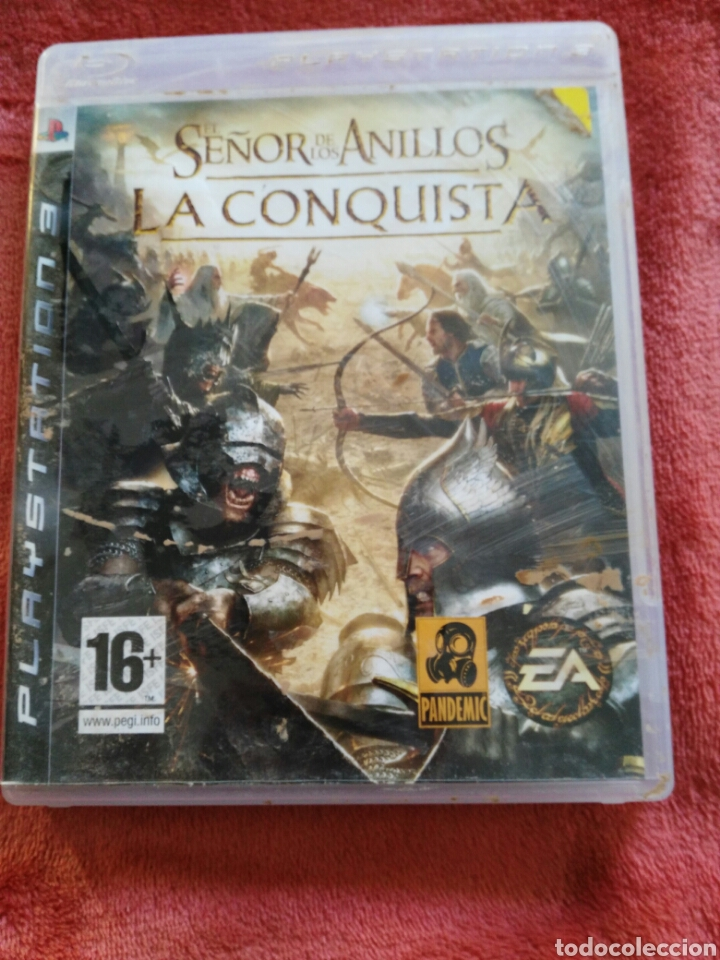 SEÑOR DE LOS ANILLOS LA CONQUISTA (Juguetes - Videojuegos y Consolas - Sony - PS3)