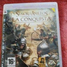 Videojuegos y Consolas: SEÑOR DE LOS ANILLOS LA CONQUISTA. Lote 195301425
