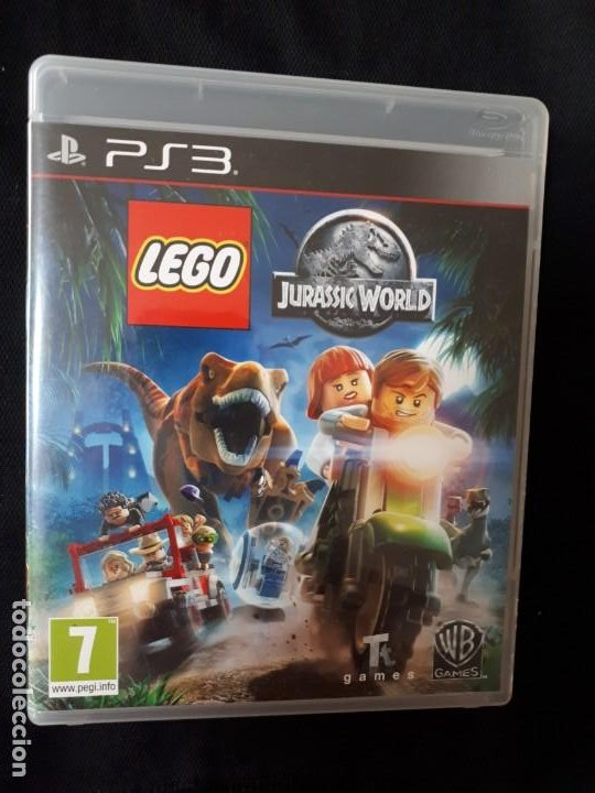 LEGO JURASSIC WORLD - SONY PLAYSTATION 3 - PS3 - BLU-RAY - COMPLETO (Juguetes - Videojuegos y Consolas - Sony - PS3)