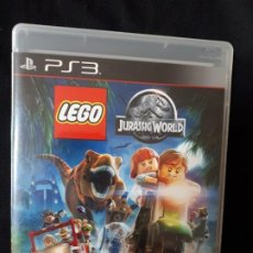 Videojuegos y Consolas: LEGO JURASSIC WORLD - SONY PLAYSTATION 3 - PS3 - BLU-RAY - COMPLETO. Lote 195304540
