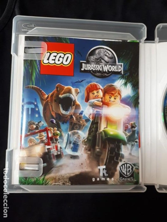 Videojuegos y Consolas: LEGO JURASSIC WORLD - SONY PLAYSTATION 3 - PS3 - BLU-RAY - COMPLETO - Foto 2 - 195304540