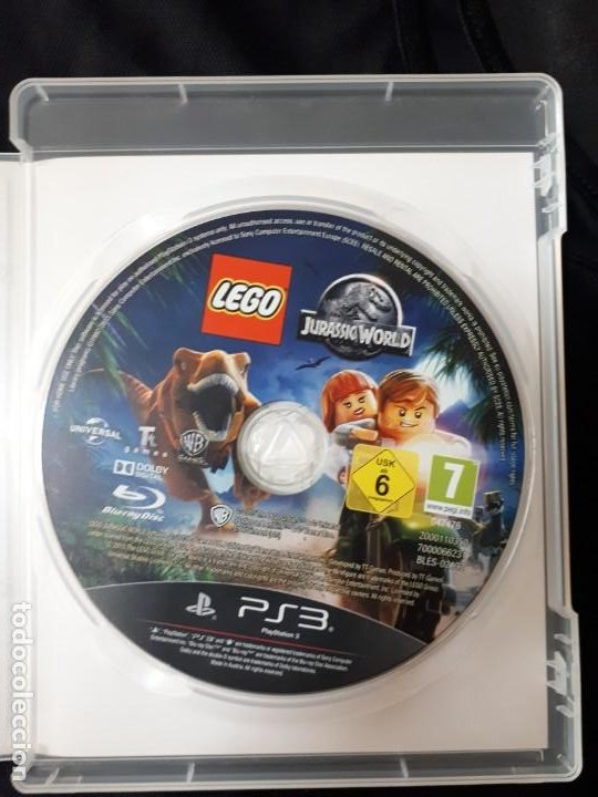 Videojuegos y Consolas: LEGO JURASSIC WORLD - SONY PLAYSTATION 3 - PS3 - BLU-RAY - COMPLETO - Foto 3 - 195304540