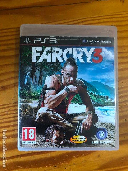 JUEGO PS3 PLAY STATION 3 FARCRY 3 CASTELLANO ESTILO TOMB RAIDER PS1 PS2 PS4 (Juguetes - Videojuegos y Consolas - Sony - PS3)