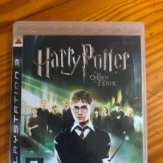 Videojuegos y Consolas: PS3 JUEGO HARRY POTTER Y LA ORDEN DEL FENIX PS2 PS1 PS4 PELICULA DVD LIBRO PLAY STATION PLAYSTATION . Lote 195432403