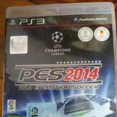Videojuegos y Consolas: PRO EVOLUTION SOCCER PES 2014 PS3. Lote 195445537